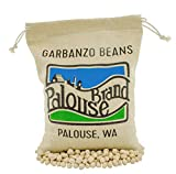 Garbanzo Beans aka Chickpeas or Ceci Beans | Non-GMO Project Verified | 5 LBS | 100% Non-Irradiated | Certified Kosher Parve | USA Grown | Field Traced (Burlap Bag)
