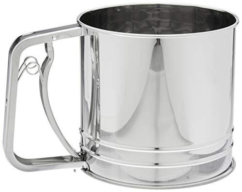 Cuisena 97044 Flour Sifter, Silver