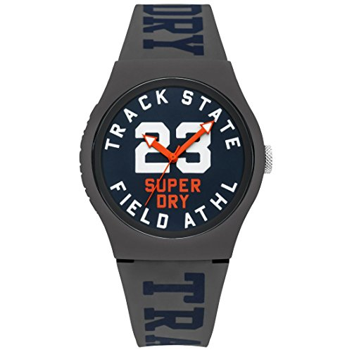 Superdry Urban Track & Field Analog Blue Dial Men's Watch-SYG182UE