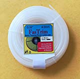 FasTrim 4mm (0.16inch) 30 metre Round/White/Grass Cutter/Nylon Trimmer line
