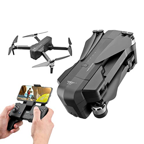 Owill SJRC F11 Pro GPS 5G WiFi FPV 2K HD Camera Foldable Brushless RC Drone Quadcopter Gifts (Black)