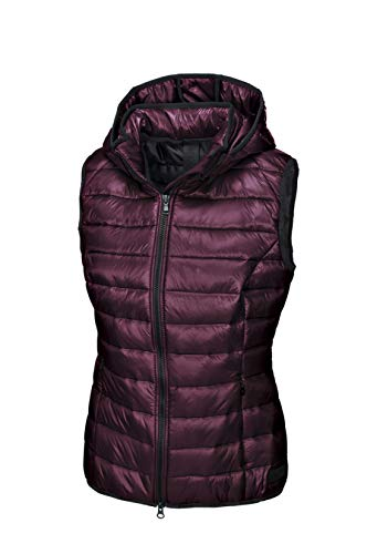 Pikeur Damen Steppweste IVA New Generation Herbst-Winter 2019/2020, Bordeaux, 38