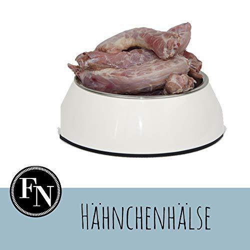 Frostfutter Nordloh > Hähnchenhälse/Hühnerhälse< 20 x 500 g, Barf Hundefutter gefroren, Frostfleisch-Paket, Gefrierfutter-Set für Hunde, Barf Frischfleisch