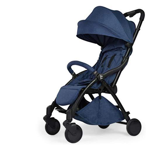 Plegable para Cochecito De Bebé Ligero con Carry Handle Travel (para 0-3 AñOs),Blue