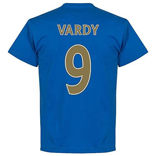Leicester City Vardy Team Tee - Royal - M
