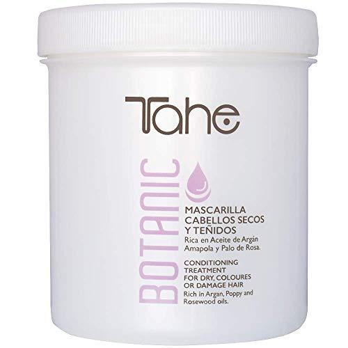 Tahe Botanic Mascarilla de Pelo Teñido/Mascarilla para Cabellos Teñidos y Secos Efecto Regenerador, 700 ml