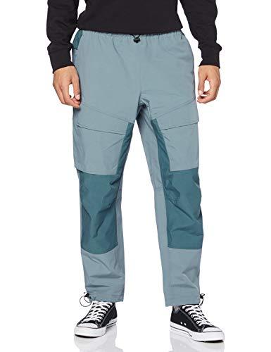 Nike M NSW TCH Pck Pant Wvn, Pantaloni Sportivi Uomo, Ozone Blue/Black, S