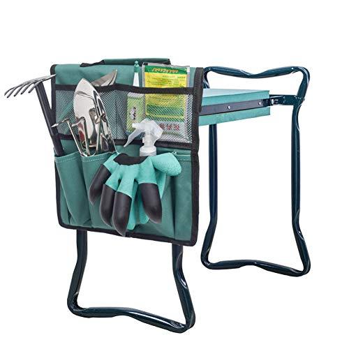 Garten-Kniebank-Werkzeugtasche mit Griff, einfach zu tragen und zu falten, hilft Rücken- und Beinschmerzen zu stoppen, Terrasse (Garten-Kniebank Hocker nicht im Lieferumfang enthalten).