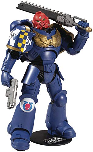 McFarlane - Warhammer 40.000 - Ultramarines Primaris AssaultIntercessor 7 Actionfigur