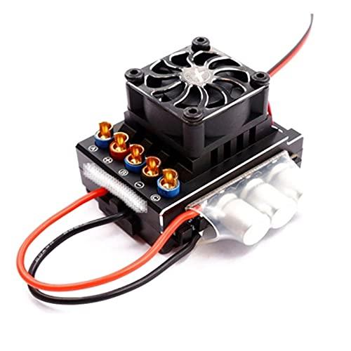 Piezas de dron, 1 8A25A 35A45A60A 80A 120A 160A RC Coche ESC Controlador de Velocidad electrónico sin escobillas 2-3s for RC Racing Speeding-60A (Color : 120A)