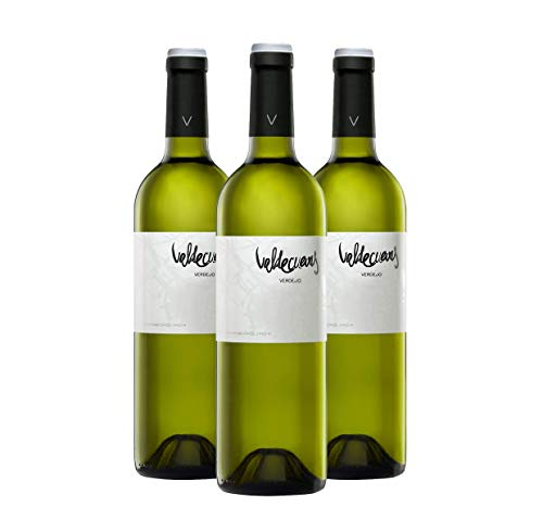 Añada Valdecuevas Verdejo, Caja de 3, Vino Blanco, 750 ml x3 D.O RUEDA