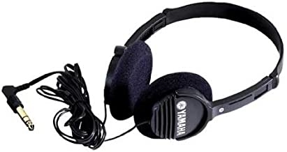 Yamaha RH1C Portable Headphones, Black
