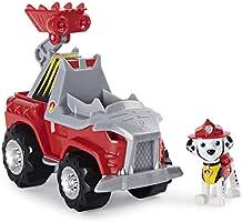 La Pat' Patrouille - 6059512 - Jeu Jouet enfant - Véhicule + Figurine Chase Dino Rescue