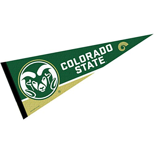College Flags & Banners Co. Colorado State Rams Pennant Full Size Felt