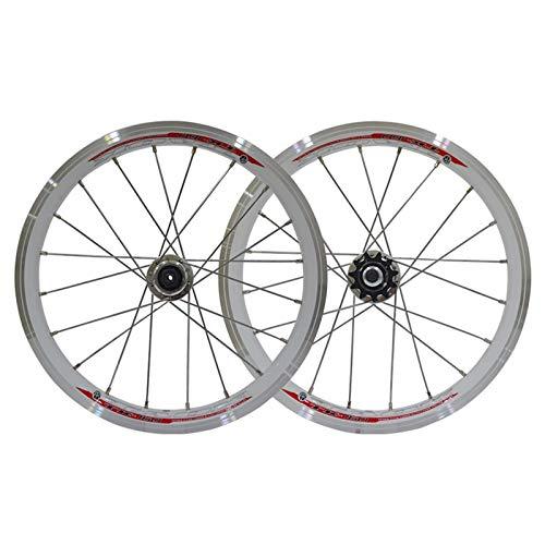 ZNND Ruedas De Bicicleta MTB 16 Pulgadas Llantas De Aluminio
