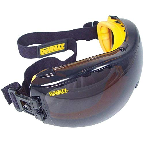 DEWALT DPG82-21 - Gafas de seguridad correctoras, lentes antivaho ahumadas (1 paquete de par), multicolor, talla única