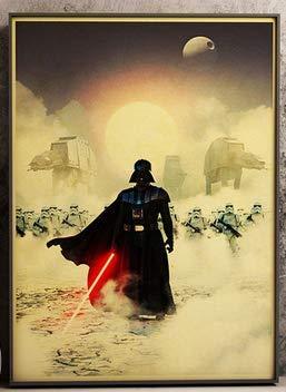 ysldtty Puzzles 1000 Teile Zusammenbau Bild Darth Vader Und Soldat Retro Classic Movie Einzigartige Sammlung Für Erwachsene Kinder Spiele Lernspielzeug B-0050