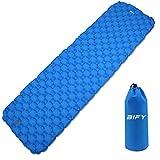 BIFY Isomatte Camping Schlafmatte Ultraleicht Kleines Packmaß. Aufblasbare Luftmatratze für