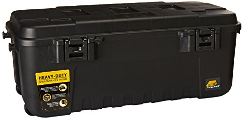 New Heavy Duty Plano Military Storage Trunk, Black