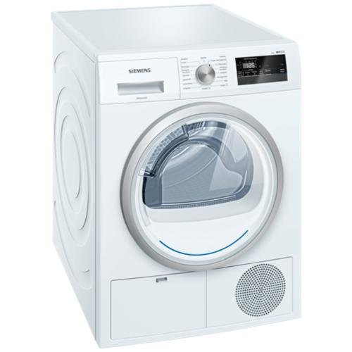 Siemens iQ300 WT45H208IT Independiente Carga frontal 8kg A++ Blanco - Secadora (Independiente, Carga frontal, Bomba de calor, Blanco, Giratorio, Tocar, Derecho)