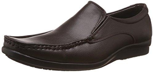 BATA Men's Scale Brown Formal Shoes - 7 UK/India (41 EU)(8514804)