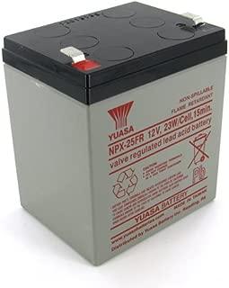 Yuasa NPX-25FRF2 12V 5Ah High Rate AGM Battery (Flame Retardant)