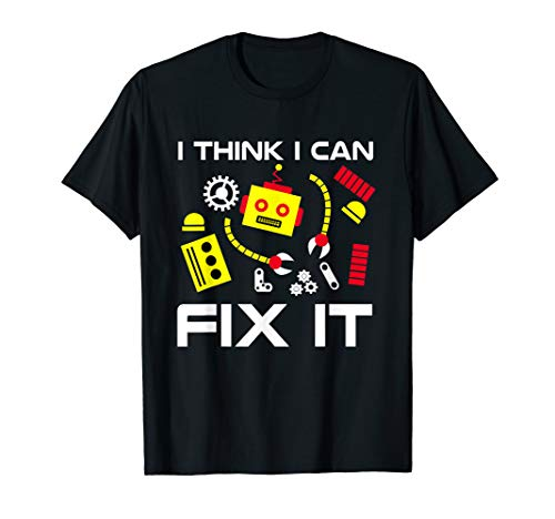 Fix It Robot Repair | Fun Robot Battle Mechanic & Programmer T-Shirt