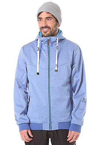 Light Sots Veste Softshell pour Homme XS Bleu - Bleu bruyère