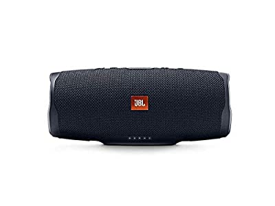 JBL Charge 4 Portable Bluetooth Speaker and Power Bank with Rechargeable Battery – Waterproof – Black from JBL
