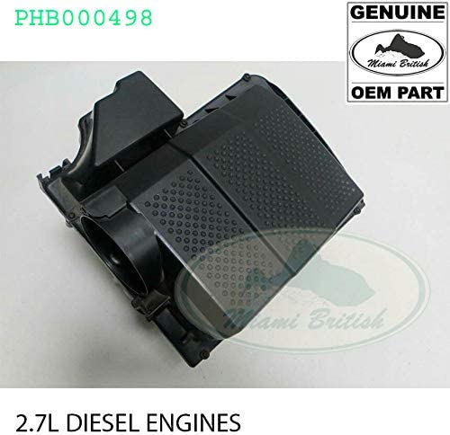 AIR CLEANER BOX LR3 LR4 RANGE DIESEL SPORT San Diego Special price for a limited time Mall 2.7L OEM PHB000498