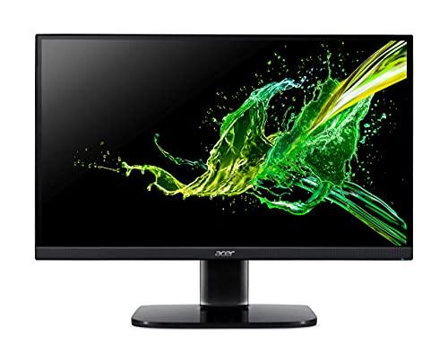Acer KA240Y - Monitor de 23,8 Pulgadas (60 cm), Full HD, 75 Hz, 1 ms (VRB), 2 x HDMI 1.4, VGA, HDMI FreeSync