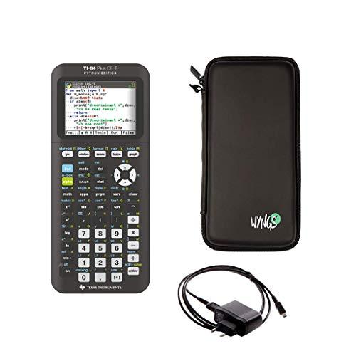 TI-84 Plus CE-T + Custodia + Caricabatterie + Garanzia 5 anni