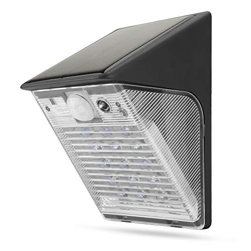 1080P buitenbeveiligingslicht met camera, waterdicht LED-zonnelicht, schijnwerpercamera met waarschuwingsfunctie + APP-bediening voor tuin, terras, hek, binnenplaats, oprit, voordeur