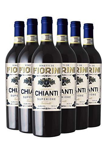 Vinetti de Fiorini Chianti Superiore 2018 - Vino Toscano Rosso - DOCG - 0.75L (6 Bottiglie)