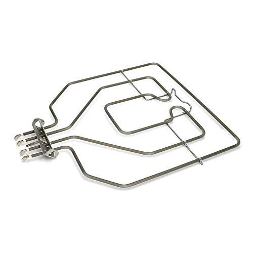 daniplus© ovenverwarming verwarming oven bovenwarmte grill geschikt voor Bosch Siemens Constructa 470845, EGO 20.41384.000