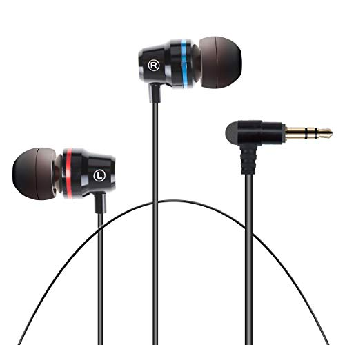 Orzero Earbuds Compatible for Oculus Quest 2, Oculus Rift S VR Headset, Upgraded Durable Graphene Speakers 3D 360° Surrounding High Clarity Sound with Custom Non-Disturbing Length - Black