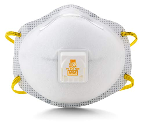 3M Particulate Respirator 8516, N95, with Nuisance Level Acid Gas Relief