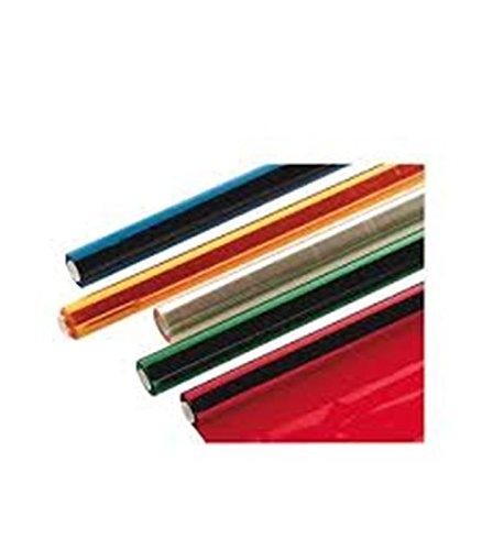 SADIPAL SAD 12501 Rolle 25 Blätter Cellophan-Papier, rot