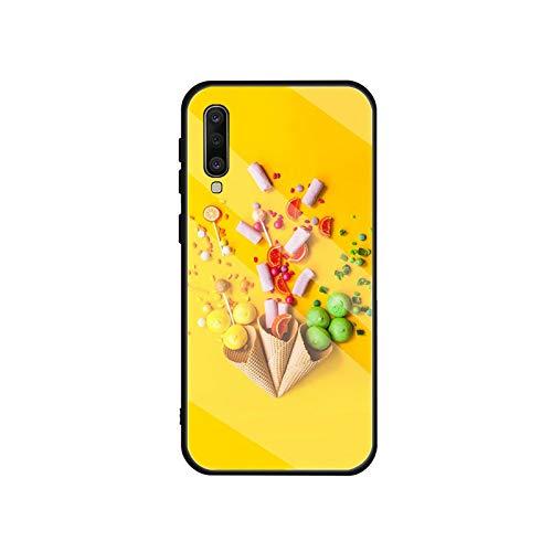 Phonecase - Carcasa de cristal templado para Samsung Galaxy A10S, A20S, A20E, A30S, A40, A50S, A60, A70, A80, A90, A6, A7, A8-B20103906-03.Jpg-Para A20 A30