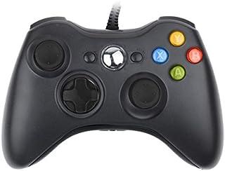 iFormosa Xbox 360 USB 有線 ゲームコントローラー Xbox360 Windows 対応 黒 IF-X360-WD-BK 8610