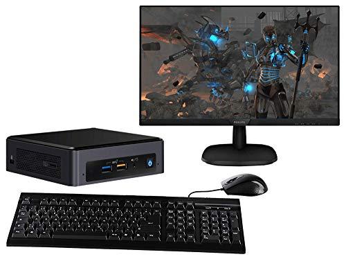 Captiva Power Starter NUC I55-263 TFT Bundle   Intel i3-8109U   Intel Iris Plus 655   16GB DDR4 RAM   SSD 120GB   Monitor 27