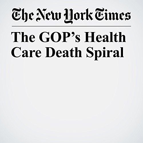 The GOP's Health Care Death Spiral copertina