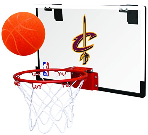 Rawlings NBA Game On Polycarbonat (PC) Mini-Basketballkorb-Set, Cleveland Cavaliers