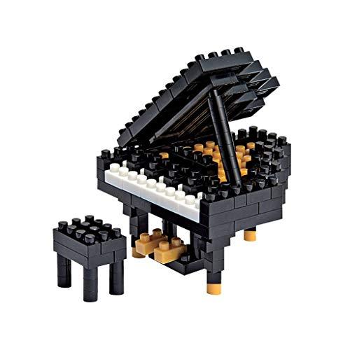 nanoblock NBC_146 NBC-146 - Grand Piano/Flügel, Minibaustein3D-Puzzle, Mini Collection Serie, 170 Teile, Schwierigkeitsstufe 2, mittel