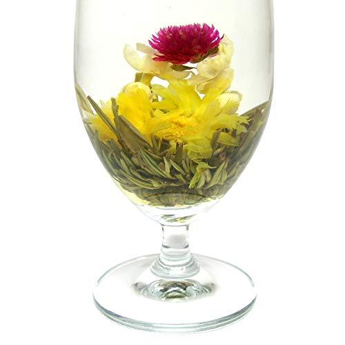 お花が開く幸せ工芸茶 水中花籠 6個入り 正式検疫品 中国茶葉 花茶 ジャスミン茶葉 ジャスミンティー