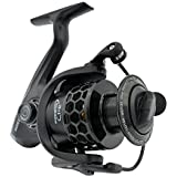 FISHDROPS Spinning Fishing Reels 12+1BB Ultra Lightweight Carved Aluminum Spool Reels Affordable Smooth Spinning Reels