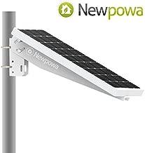 Newpowa Universal Solar Panel Mounting Bracket Single Arm Pole, Wall and Ground Mounts