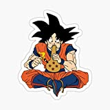 DBZ Koku Smoking Dragon Ball Z Sticker - Sticker Graphic - Auto, Wall, Laptop, Cell, Truck Sticker for Windows, Cars, Trucks