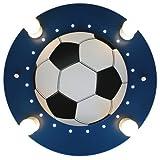 Elobra, Lampada da soffitto a forma di pallone da calcio, A, E14