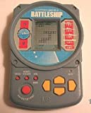 Electronic Battleship Handheld Game (1995 Grey Case)